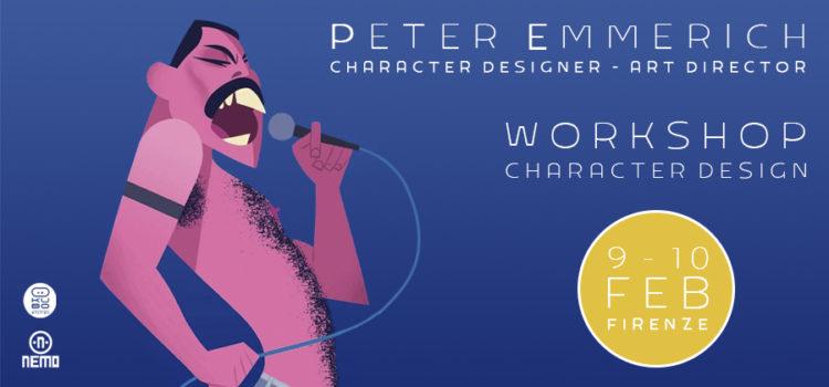 WORKSHOP CHARACTER DESIGN con PETER EMMERICH